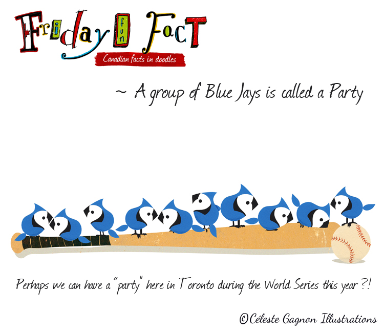 A group of Jays is called a Party