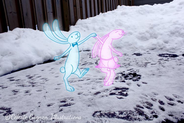 bunny dance