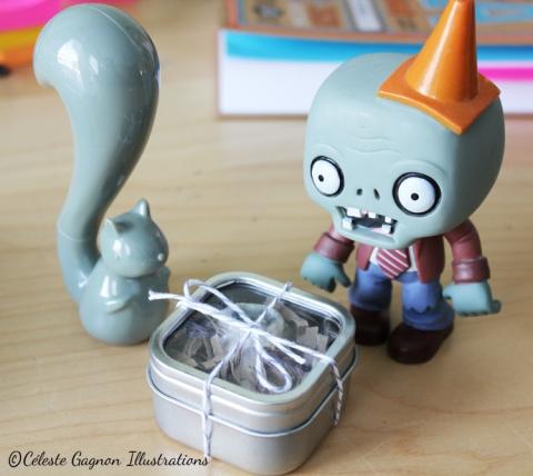 desk zombie present