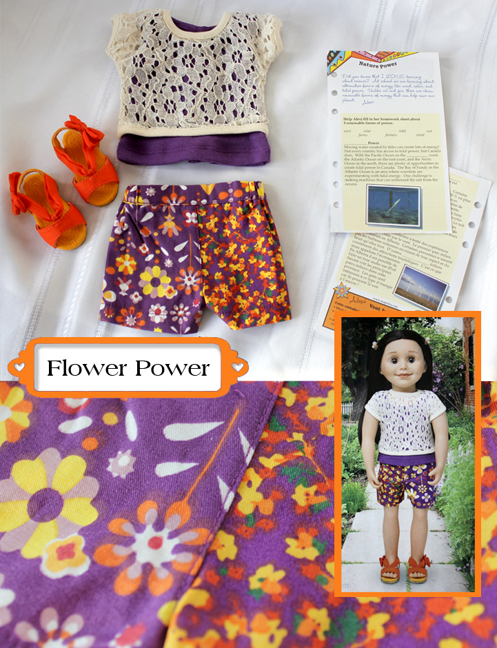 Flower Power collage