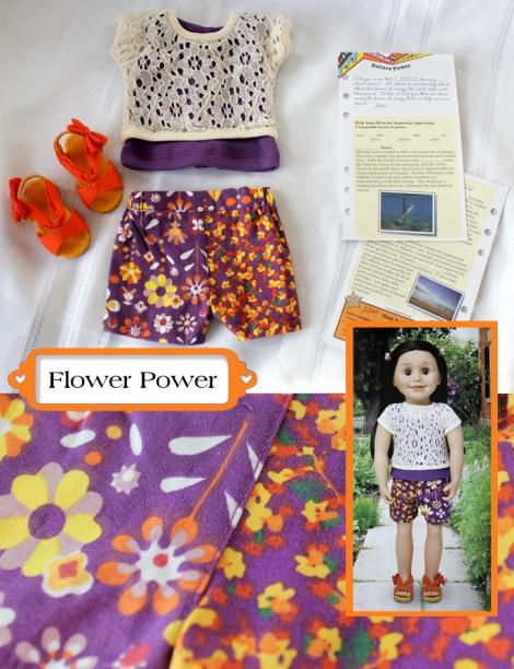Flower Power collage