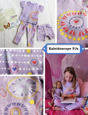Kaleidoscope pjs collage