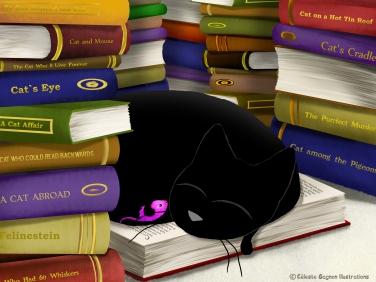 Cats and Book ~ digital