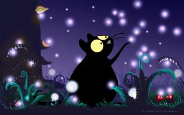 Night Garden ~ digital