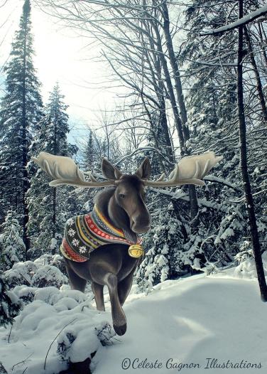 moose finished