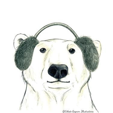 Polar Bear ~ pencil