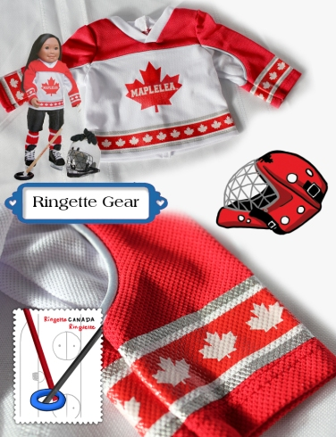 Ringette Gear collage