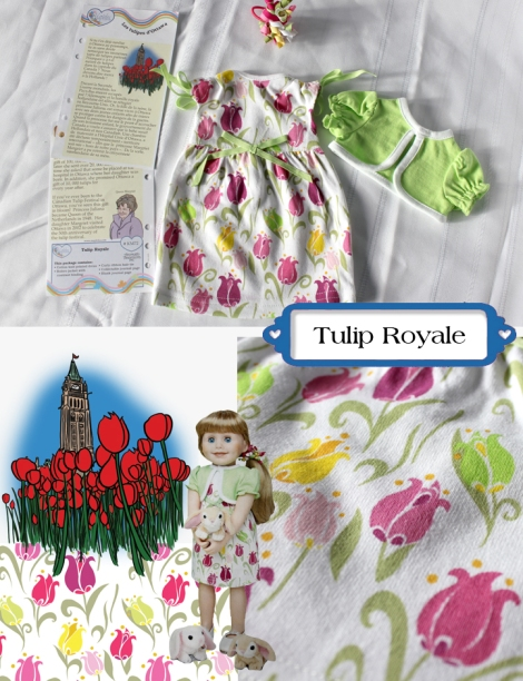 tulip Royale collage