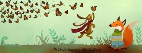 butterfly fall