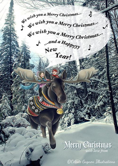 Christmas cardblog