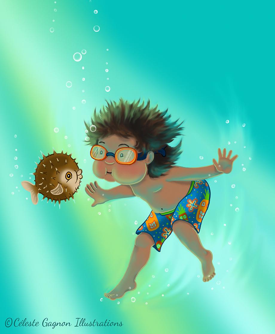 the marine biologist
