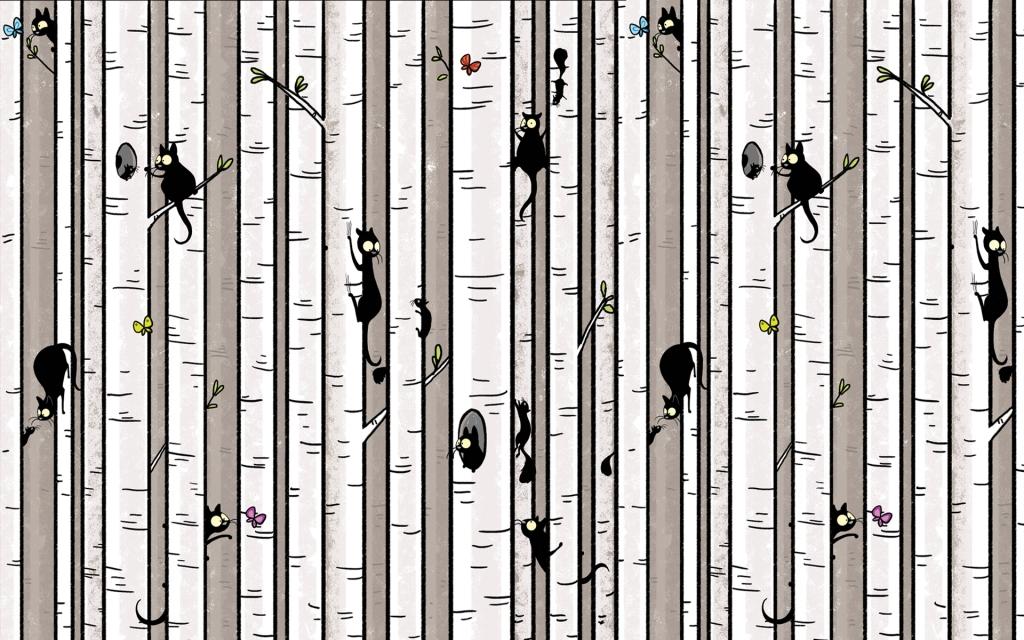 birch tree wallpaper_WS