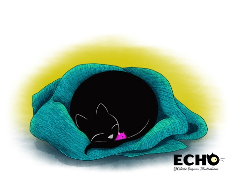 Echo snuggling_sml